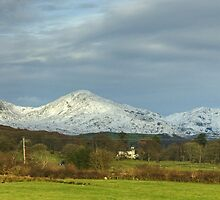 Road Trip...Coniston Fells from Lowick by Jamie  Green