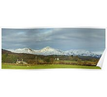 Road Trip...Coniston Fells from Lowick Poster
