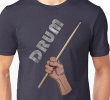 Drummer fist pump Unisex T-Shirt
