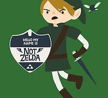 Not Zelda by Thomas Orrow