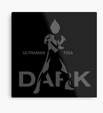 Ultraman Tiga - Dark Type Metal Print