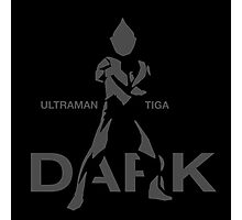 Ultraman Tiga - Dark Type Photographic Print