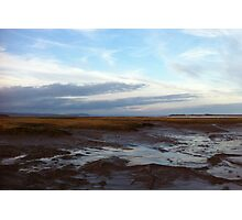 Wolfville at Sunset - Bay of Fundy Photographic Print