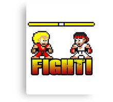 'FIGHT!' Canvas Print