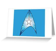Star Trek insignia/emblem/whatever Greeting Card