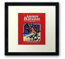 Airships & Summons Framed Print