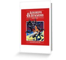 Airships & Summons Greeting Card