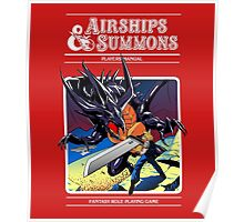 Airships & Summons Poster