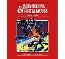 Airships & Summons Photographic Print