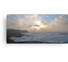 Stormy weather in November 3 Canvas Print