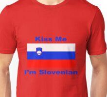 Kiss Me I'm Slovenian Unisex T-Shirt
