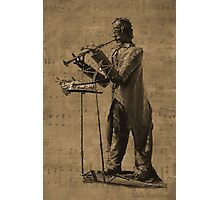 The Flute Player Photographic Print