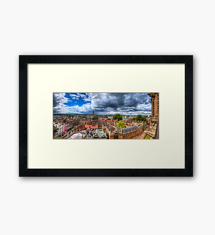 Overlooking Oxford 2.0 Framed Print