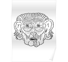 Troll Caricature Poster