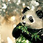 Panda Ornament by Amanda Roberts
