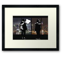 Here We Are Framed Print