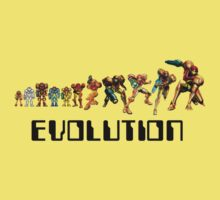 Metroid Evolution by SkinnyJoe