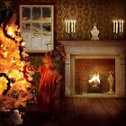 Christmas Magic by Smudgers Art