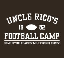 UNCLE RICO'S FOOTBALL CAMP by Keez
