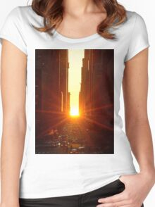 When Time Stands Still Women's Fitted Scoop T-Shirt