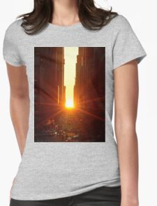 When Time Stands Still Womens Fitted T-Shirt