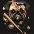 DOG BASEBALL by MEDIACORPSE