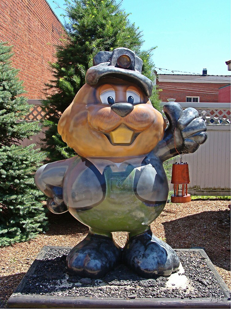 Welcom to Punxy, Home of the Groundhog! by vigor