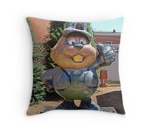 Welcom to Punxy, Home of the Groundhog! Throw Pillow
