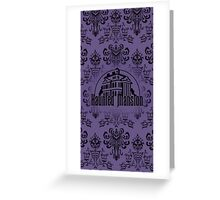 Haunted Mansion Greeting Card