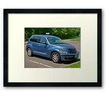 Blue Pt Cruiser Framed Print