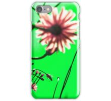 Green Dream Flowers iPhone Case/Skin
