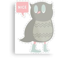 Ye Owl Metal Print