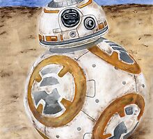 BB8 Star Wars The Force Awakens Droid  by BGauntlett