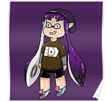 Inkling Girl - Purple Poster