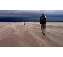 Windy Beach in St. Andrews Photographic Print