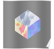 Chroma Cube Poster