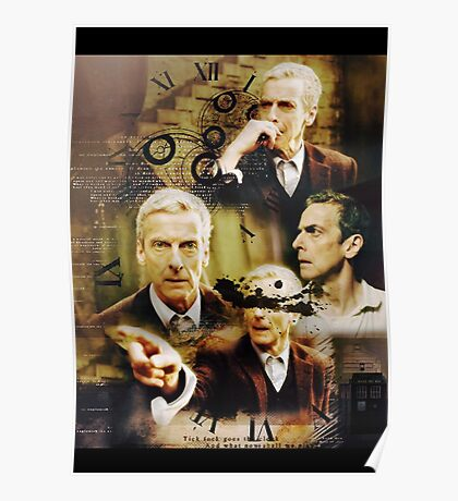 Twelfth Doctor, doctor who Poster