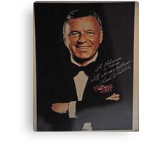 TRIBUTE TO SINATRA ON HIS 100 BIRTHDAY  Canvas Print