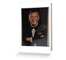 TRIBUTE TO SINATRA ON HIS 100 BIRTHDAY  Greeting Card