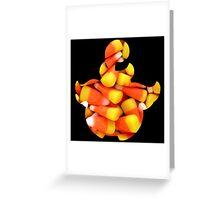 pumpkaboo used trick-or-treat Greeting Card