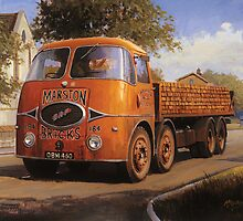 ERF KV Marston Brick by Mike Jeffries