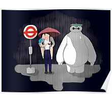 Phan/Totoro/BH6 Crossover Poster