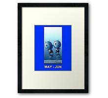 FairyTail Gemini Framed Print