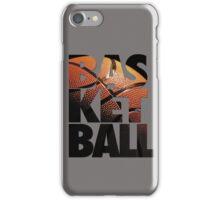 BASKETBALL V2 iPhone Case/Skin