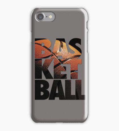 BASKETBALL V2 iPhone Case/Skin