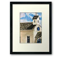 Round Top Church Framed Print