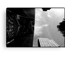 30 rock w/x-mas tree, 2011-dec Canvas Print