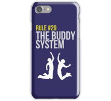 Zombieland Survival Guide - Rule #29 - The Buddy System iPhone Case/Skin