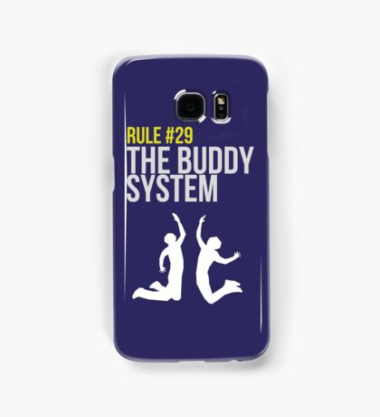 Zombieland Survival Guide - Rule #29 - The Buddy System Samsung Galaxy Case/Skin