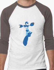 Mega Man X Splattery Any Color Shirt or Hoodie Men's Baseball ¾ T-Shirt